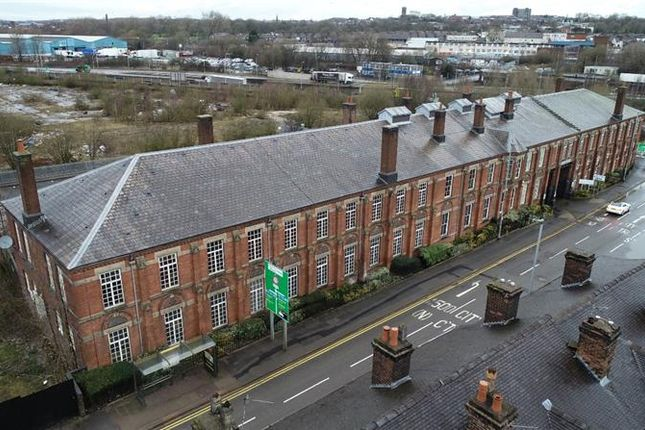 Thumbnail Commercial property for sale in Minton Hollins Building, Shelton Old Road, Stoke On Trent, Staffordshire