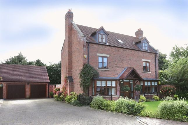 Thumbnail Detached house for sale in Fair View Court, Wheaton Aston, Stafford