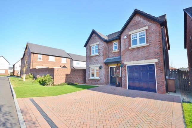 Thumbnail Detached house for sale in Edderside Drive, Whitehaven