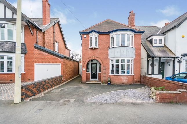 Thumbnail Detached house for sale in The Crescent, Cradley Heath
