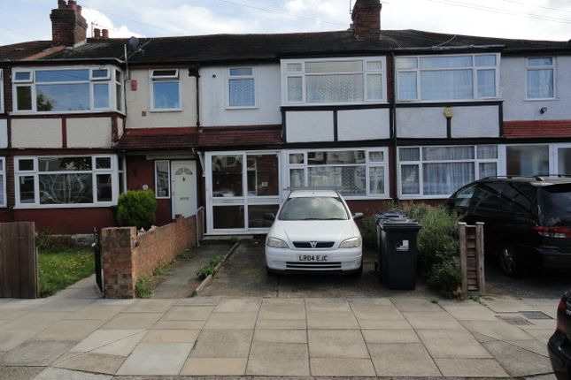 Thumbnail Terraced house for sale in Lee Road, Perivale