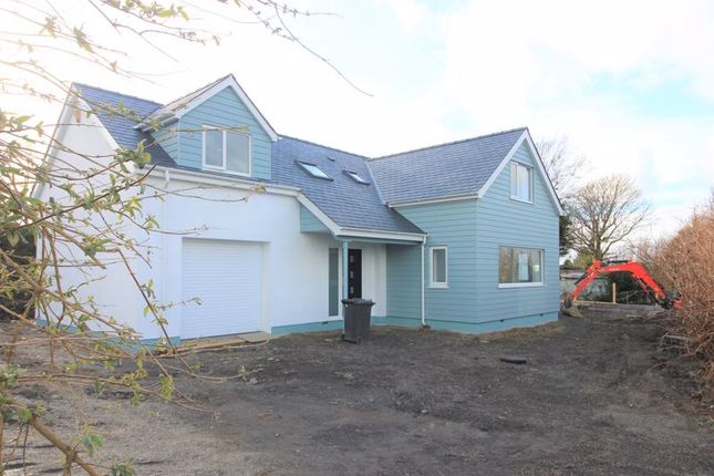 Thumbnail Detached house for sale in Llaneilian, Amlwch