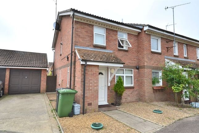 Thumbnail End terrace house for sale in Margaret Rose Close, King's Lynn