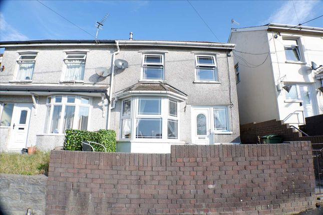 Semi-detached house for sale in Holly Street, Gilfach Goch, Porth