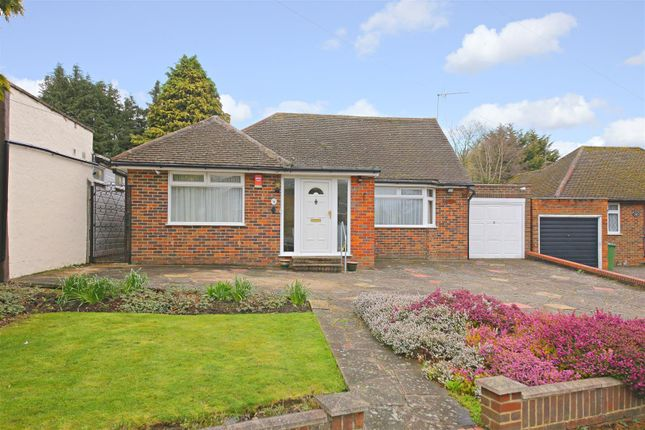 Thumbnail Detached bungalow for sale in Newberries Avenue, Radlett