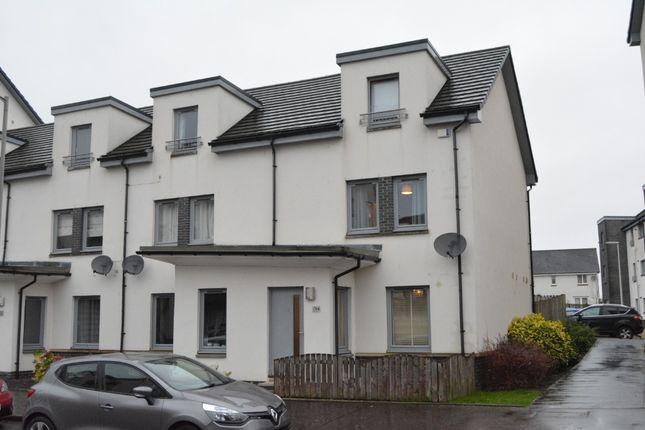 Thumbnail End terrace house for sale in Crookston Court, Larbert, Falkirk