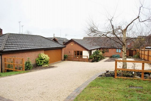 Thumbnail Detached bungalow for sale in Icknield Street, Church Hill North, Redditch