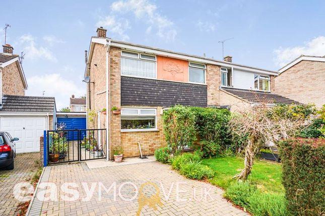 Thumbnail Semi-detached house for sale in Pinnegar Way, Swindon