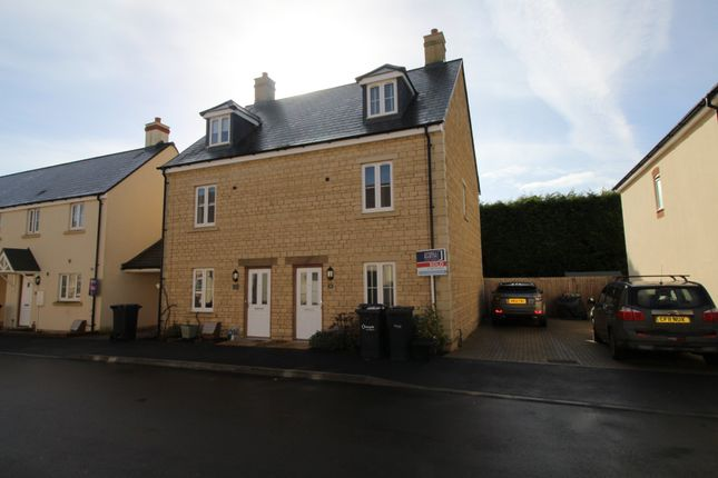 Thumbnail End terrace house to rent in Station Road, Calne