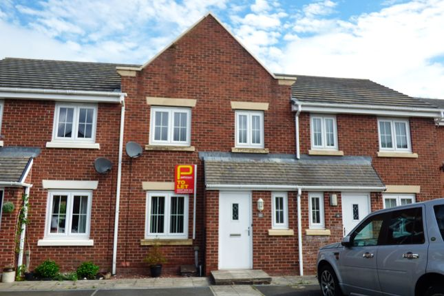 3 bed terraced house to rent in Arkless Grove, The Grove, Consett DH8