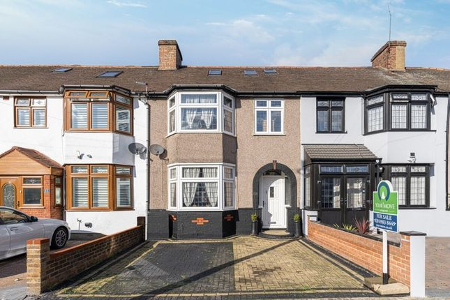 Thumbnail Terraced house for sale in Hickman Road, Chadwell Heath, Romford