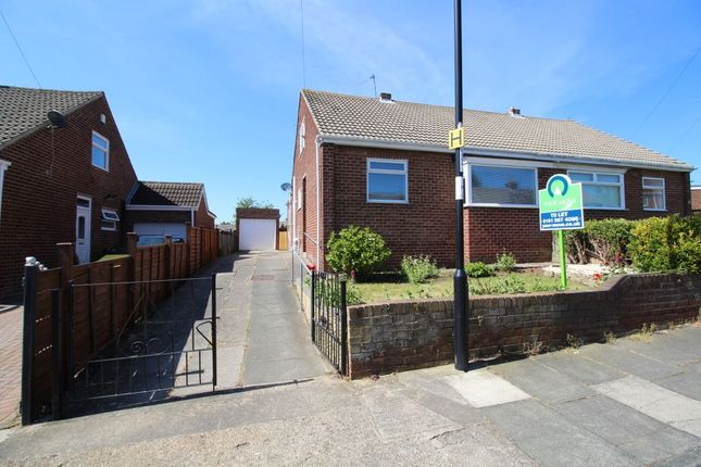 Thumbnail 2 bed bungalow for sale in Carlton Crescent, Sunderland