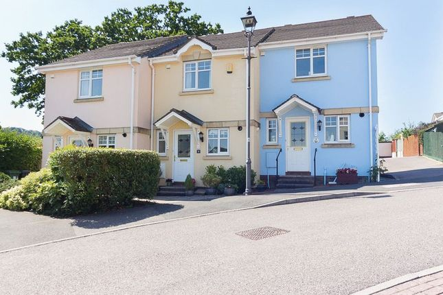 Thumbnail End terrace house for sale in Chestnut Crescent, Chudleigh, Newton Abbot