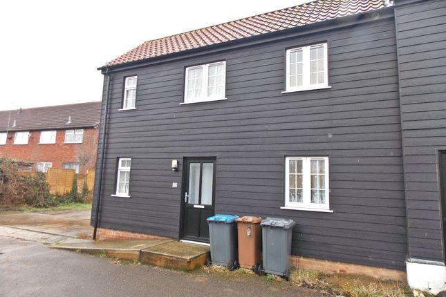 Thumbnail End terrace house to rent in Church Lane, Felixstowe