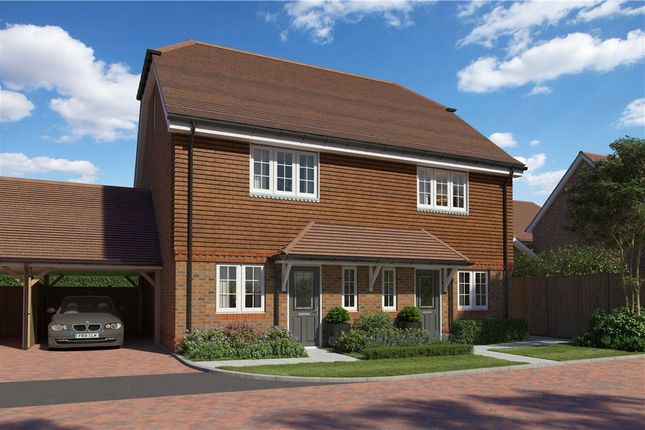 Thumbnail Semi-detached house for sale in Princess Marina Drive, Arborfield Green, Reading