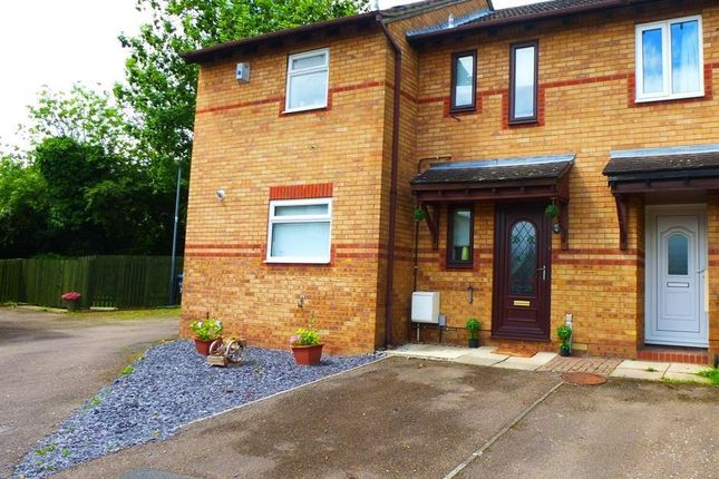 Thumbnail Terraced house to rent in Mosedale, Rugby
