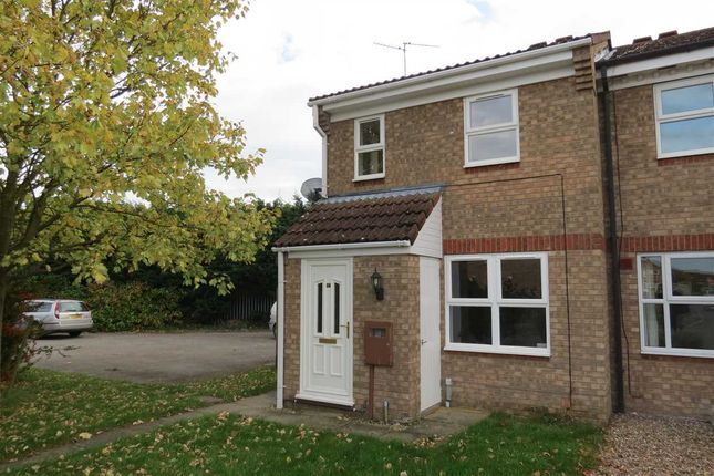 Thumbnail End terrace house to rent in Linnet Way, Sleaford