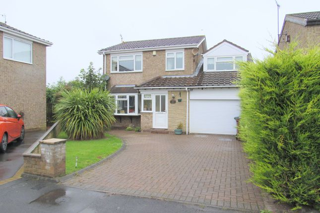 Thumbnail Detached house for sale in Kingswood Road, Cramlington