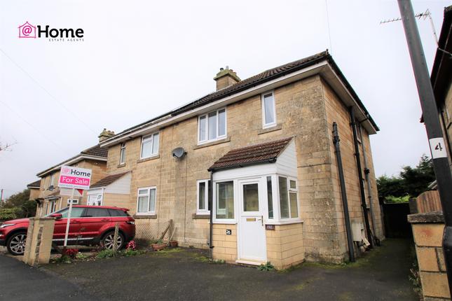Thumbnail Semi-detached house for sale in Barrow Road, Bath