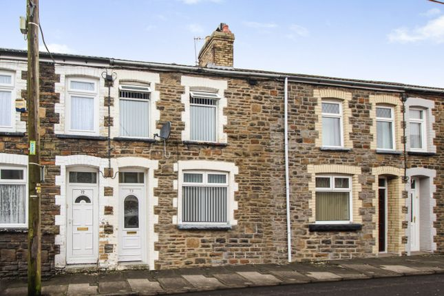 Thumbnail Terraced house for sale in Greenfield, Bargoed, Mid Glamorgan