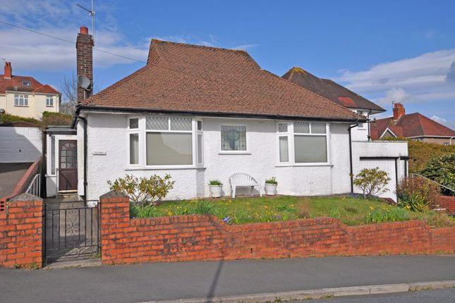 Thumbnail Detached bungalow for sale in Detached Bungalow, Ridgeway Court, Newport
