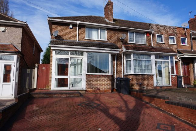 Thumbnail End terrace house for sale in Old Oscott Lane, Birmingham