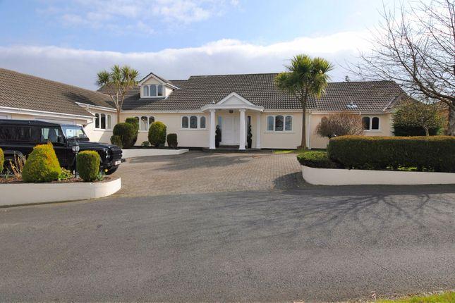 Thumbnail Bungalow for sale in Booilushag, Ballajora Hill, Ballajora, Ramsey, Isle Of Man