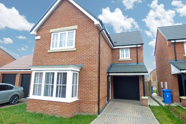 Thumbnail Detached house for sale in Belford Court, Devonworth Place, Blyth