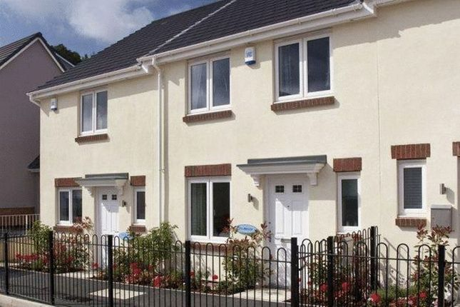 Thumbnail Terraced house to rent in Bridge View, St Budeaux, Plymouth
