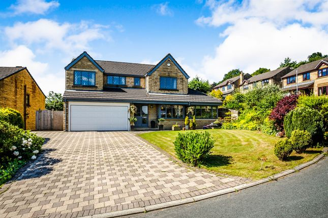 Thumbnail Detached house for sale in Springside Rise, Golcar, Huddersfield
