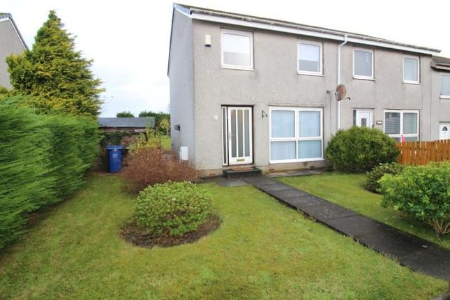 Thumbnail End terrace house to rent in Blantyre Drive, Bishopton