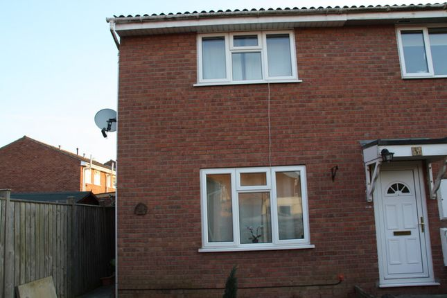 Thumbnail End terrace house to rent in Hayward Close, Clevedon`