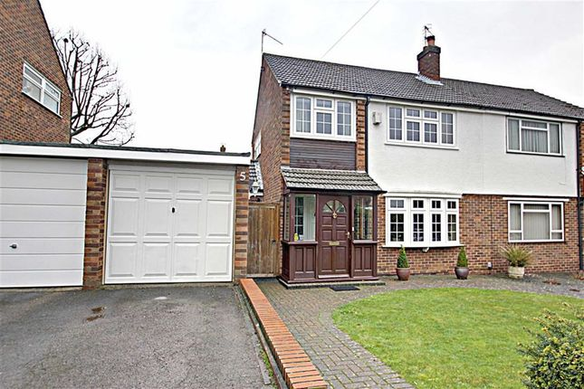 Thumbnail Semi-detached house for sale in Chantry Close, Kings Langley