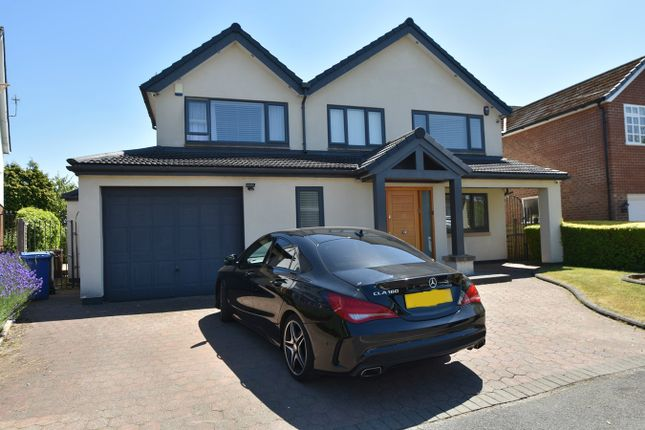 Thumbnail Detached house for sale in Wentworth Avenue, Whitefield, Manchester