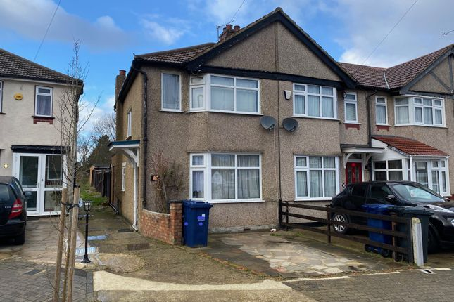 Thumbnail End terrace house for sale in Kingsmead Drive, Northolt