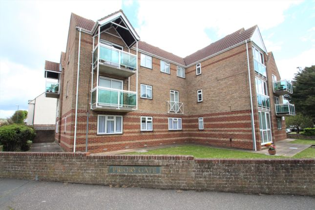 Thumbnail 1 bed flat to rent in North Road, Lancing