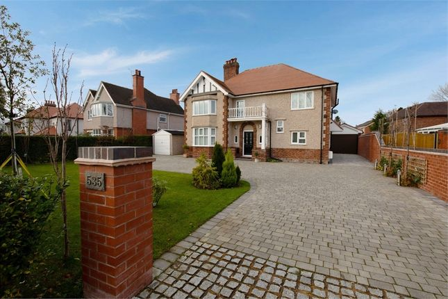 Thumbnail Detached house for sale in Crewe Road, Wistaston, Crewe, Cheshire
