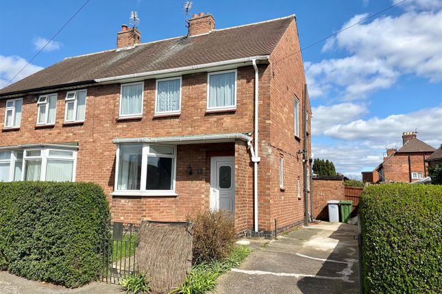 3 bed semi-detached house for sale in Markham Avenue, Newark NG24