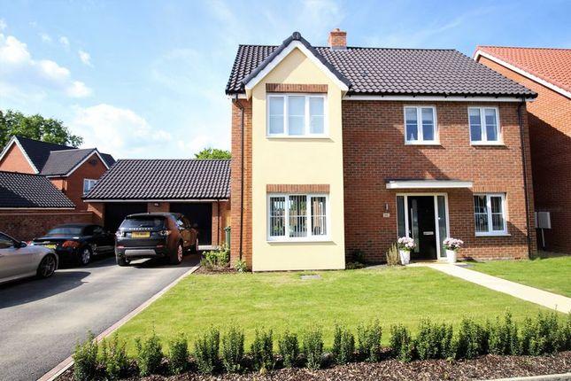 Thumbnail Detached house for sale in Horseshoe Road, Hethersett, Norwich