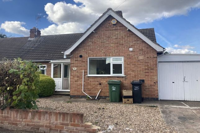 2 bed bungalow to rent in Linford Road, Loughborough LE11