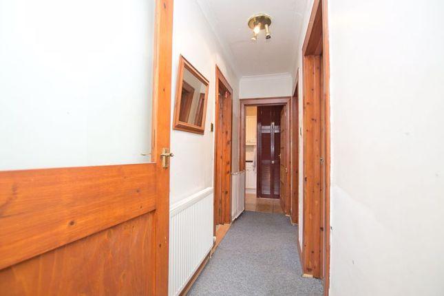 Hallway of Inzievar Terrace, Mount Vernon, Glasgow G32