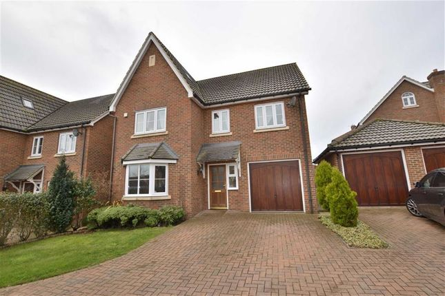 Thumbnail Detached house for sale in Great Ashby Way, Stevenage, Herts