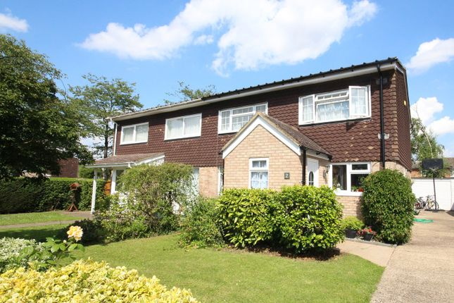 Thumbnail Semi-detached house for sale in Howards Wood, Letchworth Garden City