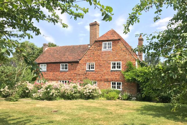 Thumbnail Farmhouse for sale in Maidstone Road, Marden, Tonbridge