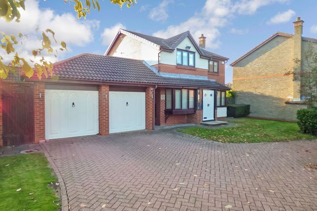 Thumbnail Detached house to rent in Whitworth Meadow, Middlestone Moor, Spennymoor