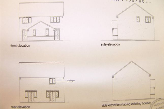 Thumbnail Semi-detached house for sale in Plot 1, Corner Of Birch Close, Alfreton