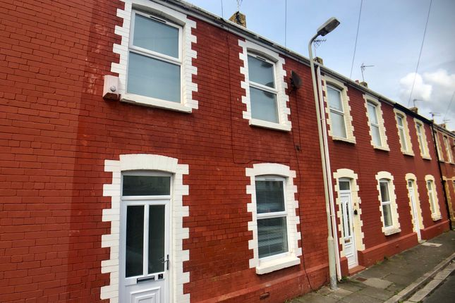 Thumbnail Terraced house to rent in Vintin Terrace, Porthcawl