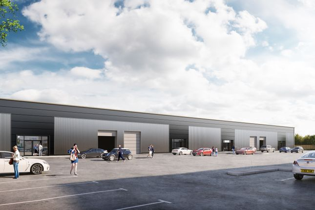 Thumbnail Industrial to let in Beacon Hill Road, Church Crookham, Fleet