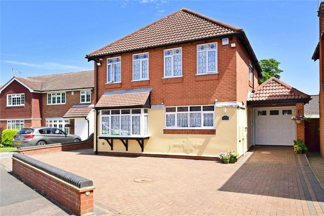 Thumbnail Detached house for sale in Steeple Way, Doddinghurst, Brentwood, Essex