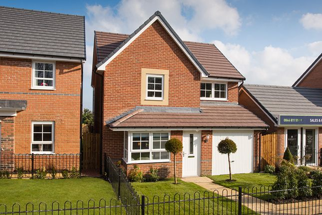 "Thumbnail Detached house for sale in ""Derwent"" at Station Road, Methley, Leeds"
